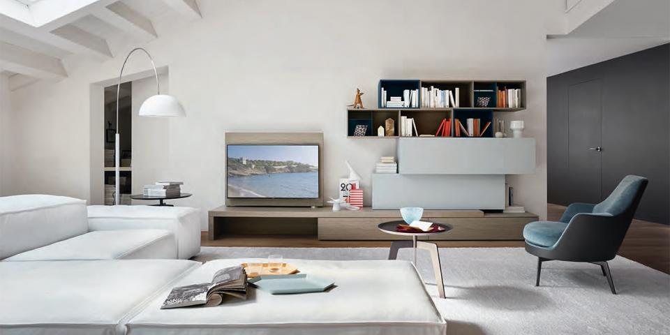 Arredare e valorizzare gli spazi con le pareti attrezzate for Arredare casa in modo originale