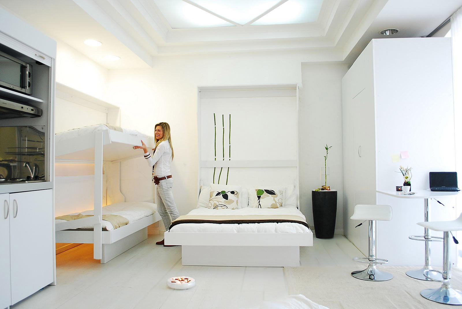 Ottimizzare gli spazi il letto a scomparsa e gli altri arredi trasformabili arredamento design - Letto a scomparsa fai da te ...