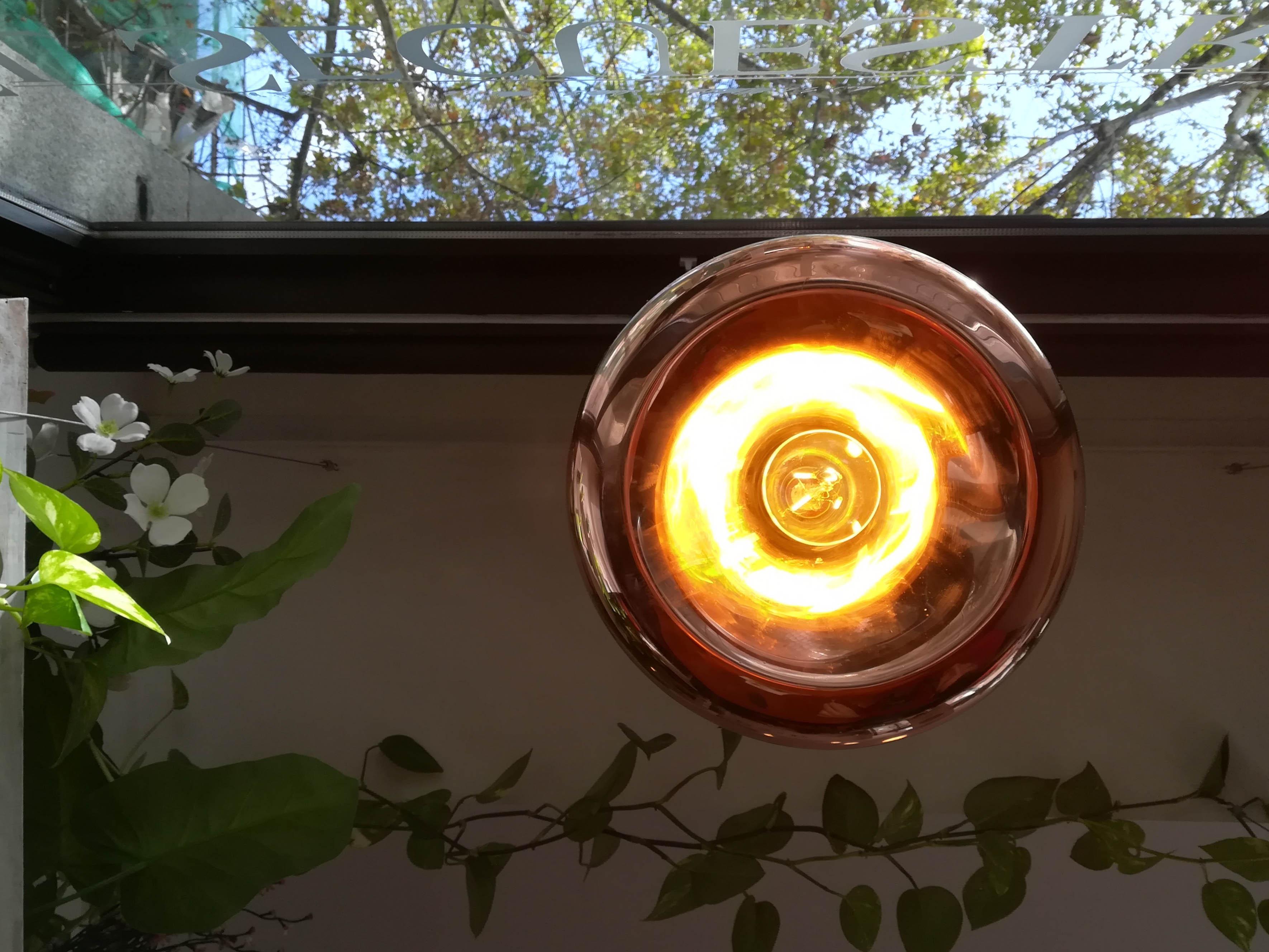 lampada a soffitto